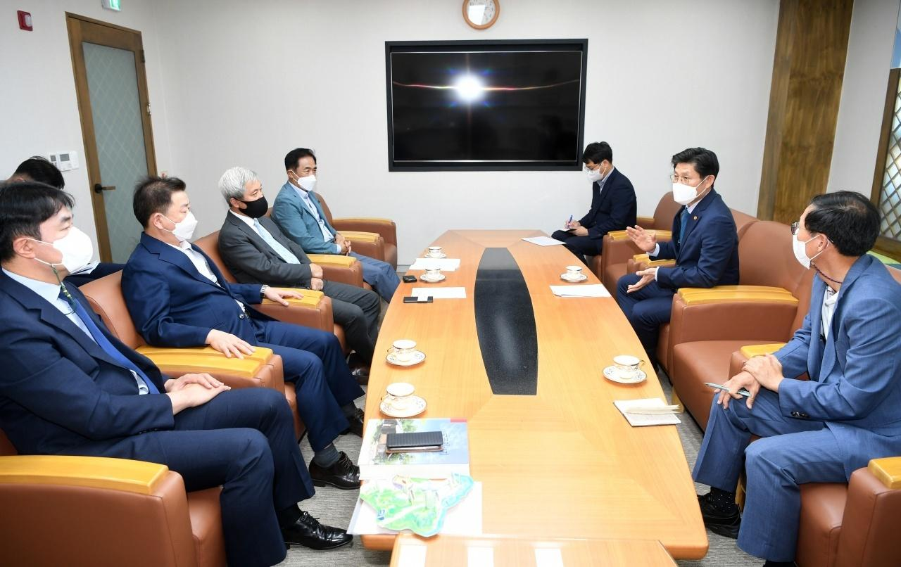 경기도 16개 시장・군수 비상대책위원회・국토교통부 면담 개최2