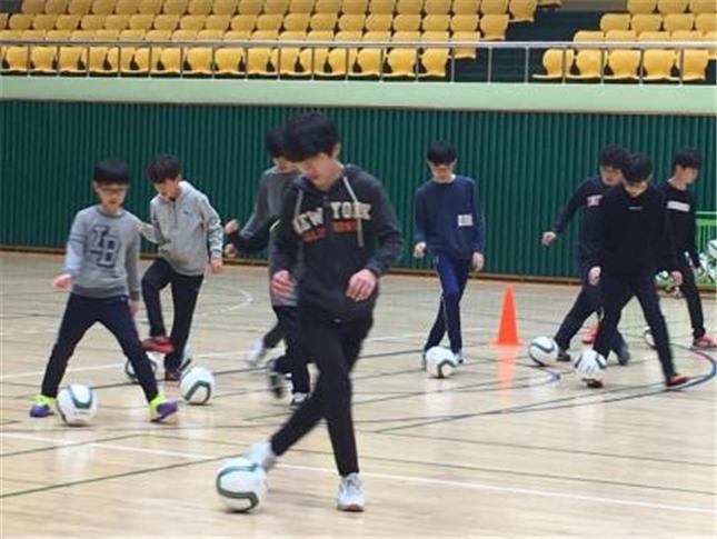 평택시 학교 밖 청소년 생활관리 프로그램 진행(2019년 생활관리프로그램 축구 과정)